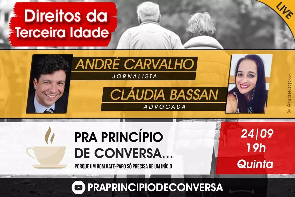 ANDRÉ CARVALHO e DRA. CLÁUDIA BASSAN
